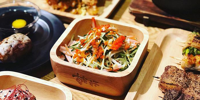Crab Meat Salad, Ganbei Yakitori Restaurant (Tsim Sha Tsui), Tsim Sha Tsui, Hong Kong