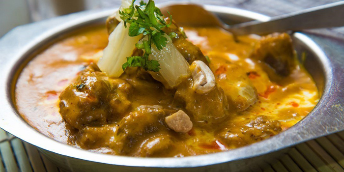 Curry Beef, Khyber Pass Mess Club, Tsim Sha Tsui, Hong Kong