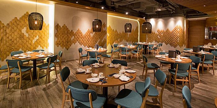 Dining Area, Forbidden Duck, Causeway Bay, Hong Kong