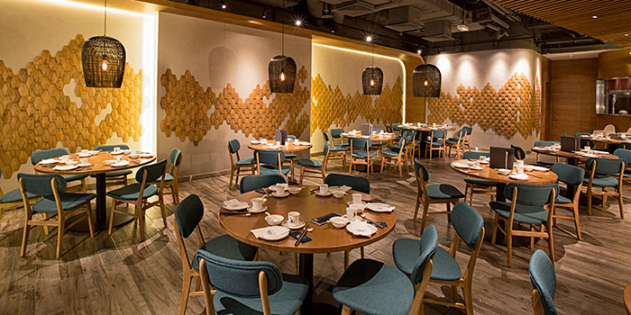 Dining Area, Forbidden Duck, Causeway Bay, Hong Kong