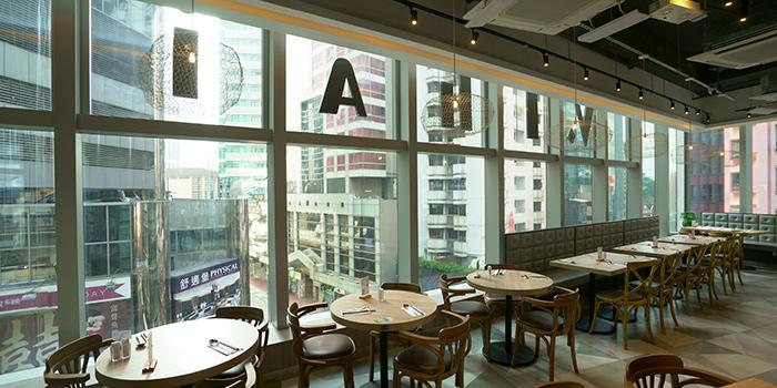 Interior, V.THAi, Causeway Bay, Hong Kong