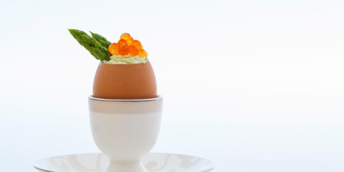 Egg Nouvelle at Boneka Restaurant, Nusa Dua
