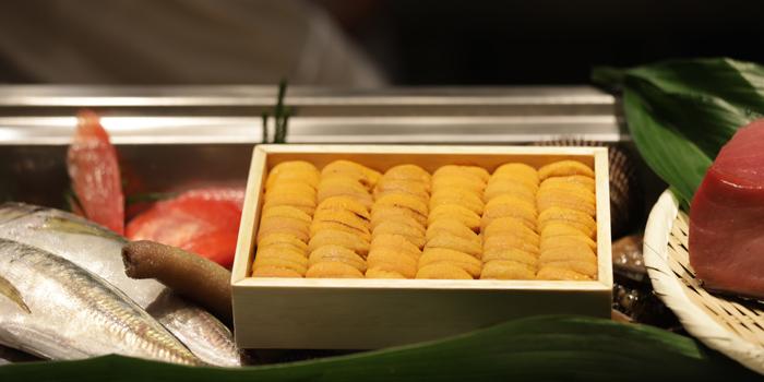 Fresh Uni from Sushi Cyu at CENTRAL WORLD 3rd Floor, Atrium Zone 999/9 Rama 1 Road Patumwan, Bangkok