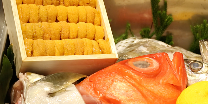 Fresh Ingredient from Sushi Cyu at CENTRAL WORLD 3rd Floor, Atrium Zone 999/9 Rama 1 Road Patumwan, Bangkok