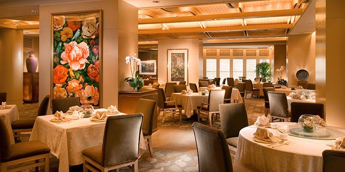 Interior of Golden Peony in Conrad Centennial Hotel in Promenade, Singapore