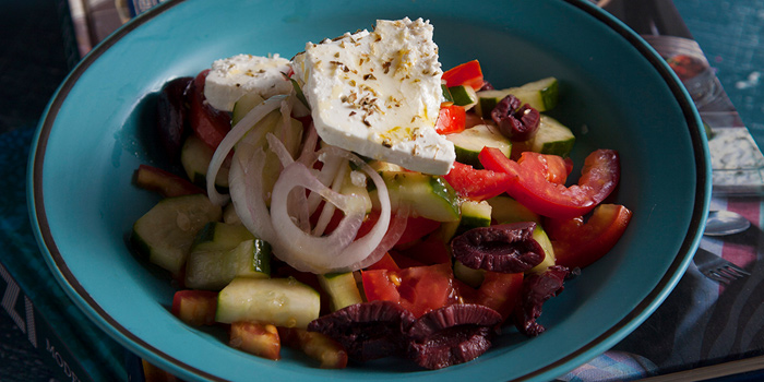 Greek Salad from Aesop