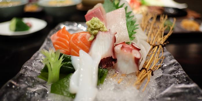 Mixed Sashimi from Serina Japanese Teppanyaki at 9/26 Soi Jim Thompson Surawong, Bangrak Bangkok