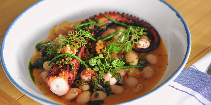 Chargrilled Octopus Tentacle from Bayswater Kitchen at Marina at Keppel Bay, Singapore