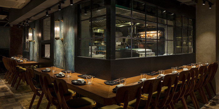 Open Kitchen Area, MEATS, Central, Hong Kong