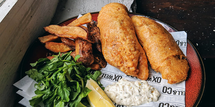Fish & Chips from Oxwell & Co on Ann Siang Road in Chinatown, Singapore