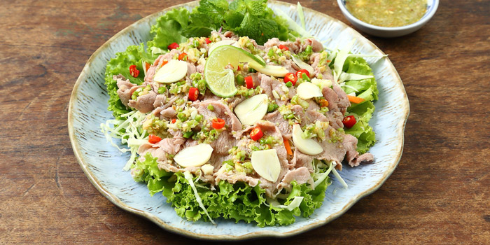 Pork spicy salad from Kram at 113 Sukumvit 39, Klongton Nua Wattana, Bangkok