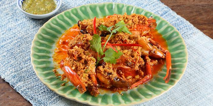 Stir-Fried Prawn with Curry from Kram at 113 Sukumvit 39, Klongton Nua Wattana, Bangkok