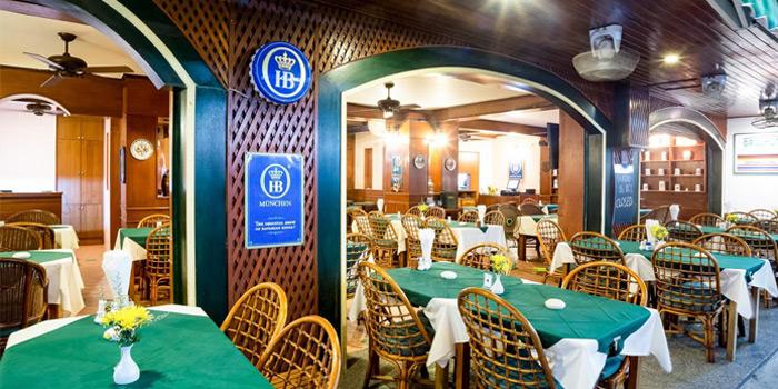 Restaurant-Atmospere of Grillhutte in Patong, Phuket, Thailand.