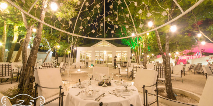 Restaurant-Atmosphere of 23 Restaurant and Club in Caherng Talay, Phuket, Thailand.