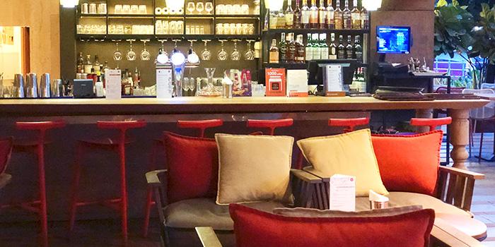 Bar Area of Ricciotti (Riverwalk) in Clarke Quay, Singapore
