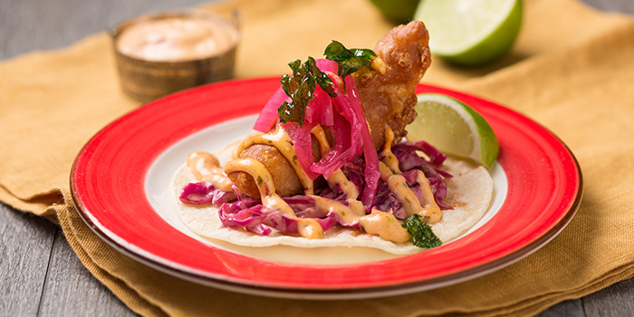 Fish Taco from Barrio by Mex Out (313@Somerset) in Orchard, Singapore