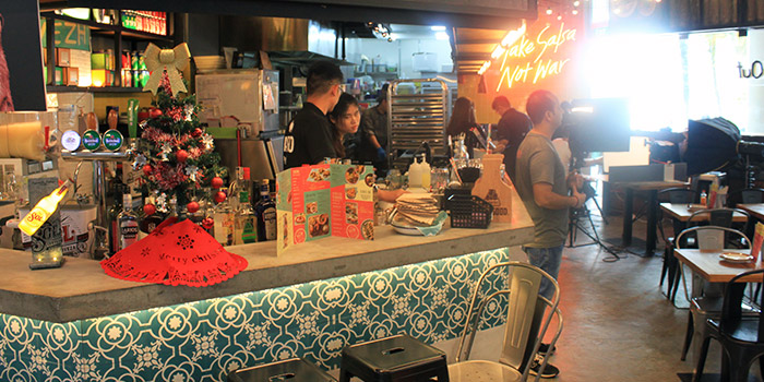 Interior of Barrio by Mex Out (VivoCity) in Harbourfront, Singapore