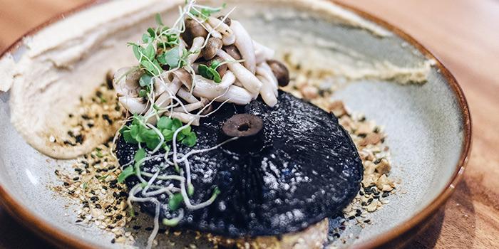 Mushroom & Hummus from Bearded Bella in Tanjong Pagar, Singapore