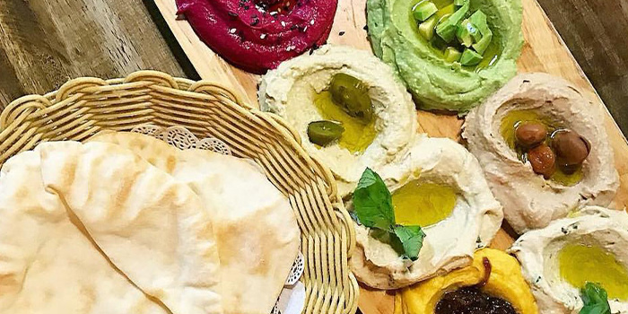 Assorted Dips from Beirut Grill in Bugis, Singapore