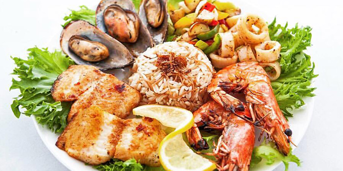 Mixed Seafood Platter from Beirut Grill in Bugis, Singapore