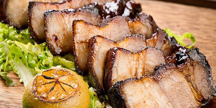 Hichory Smoked Kurobuta Pork Belly from Blue Lotus - Chinese Grill House at Tanjong Pagar Centre in Tanjong Pagar, Singapore