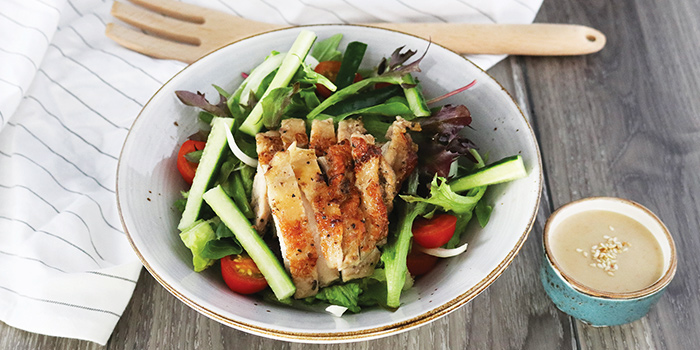Grilled Chicken Salad from COLLIN'S® (Changi Airport) at Changi Airport Terminal 3 in Changi, Singapore