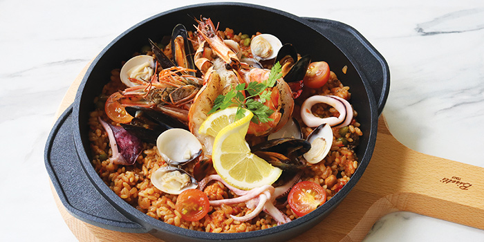 Premium Seafood Risotto Casserole from COLLIN'S® (Changi Airport) at Changi Airport Terminal 3 in Changi, Singapore