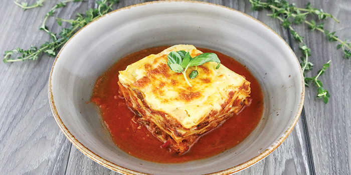 Wagyu Beef Lasagne from COLLIN'S® (Changi Airport) at Changi Airport Terminal 3 in Changi, Singapore