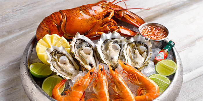 Seafood Platter from Lobby Lounge in Conrad Centennial Hotel in Promenade, Singapore