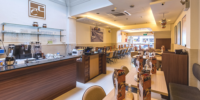 Level 1 Interior of Copper Chimney on Syed Alwi Road in Jalan Besar, Singapore