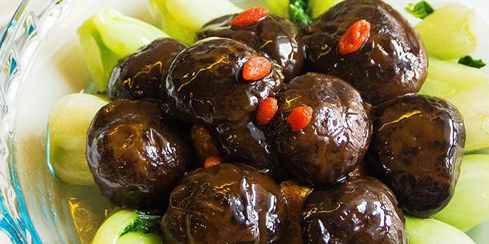 Shitake Mushroom from Eight Treasures Vegetarian Restaurant in Chinatown, Singapore