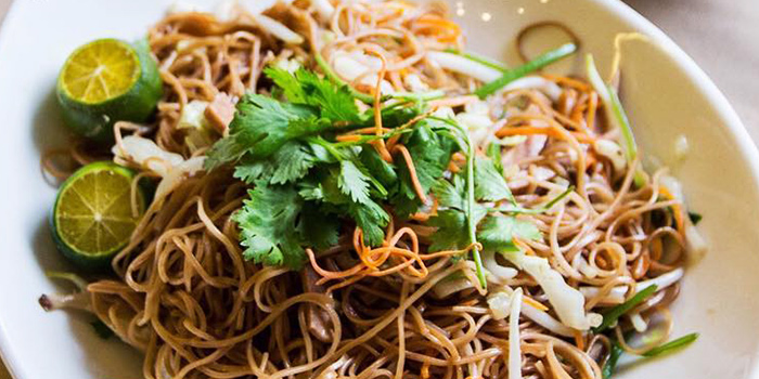 Stir Fried Vermicelli from Eight Treasures Vegetarian Restaurant in Chinatown, Singapore