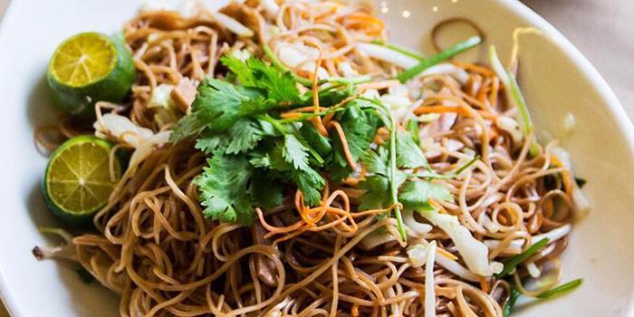 Stir Fried Vermicelli from Eight Treasures Vegetarian Restaurant in Chinatown, Singapore