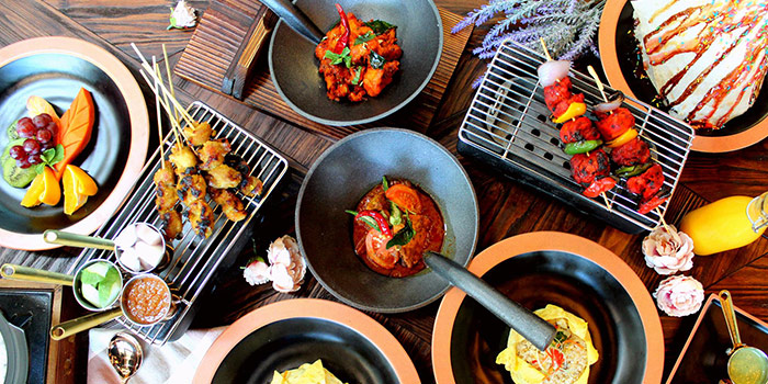 Food Spread from Flaming Spice in Pasir Ris, Singapore