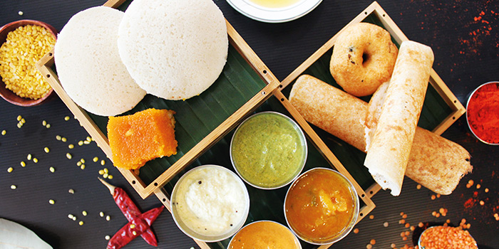 Food Spread from Gayathri Restaurant on Race Course Road in Little India, Singapore