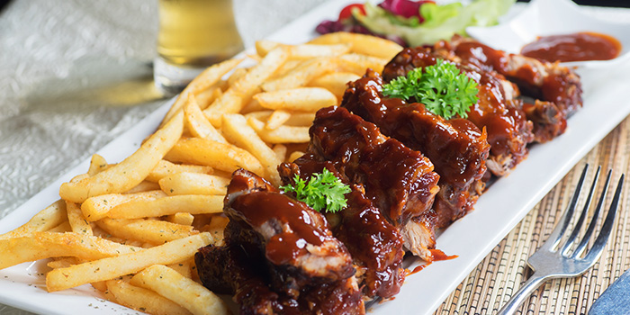 BBQ Pork Ribs from Georges Beach Club in East Coast, Singapore