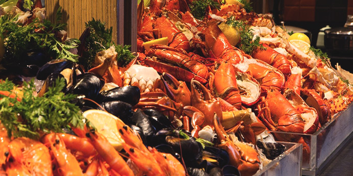 Seafood Spread from J65 @ Hotel Jen Tanglin at Hotel Jen in Tanglin, Singapore
