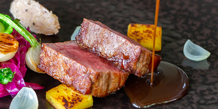 Angus Beef from Lewin Terrace in City Hall, Singapore