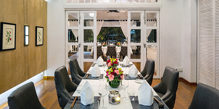 Main Dining Room of Lewin Terrace in City Hall, Singapore