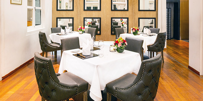 Private Dining Room of Lewin Terrace in City Hall, Singapore