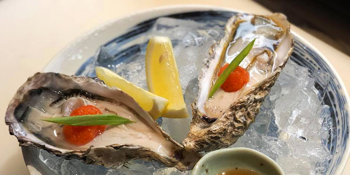 Oyster from Manpei 万平 at Central Mall in Clarke Quay, Singapore