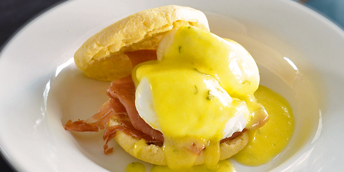 Eggs Benedict from Picotin Express in Bukit Timah, Singapore