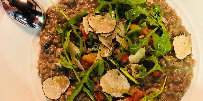 Truffle Mushroom Risotto from Porters Restaurant & Bar @ The Sail in Marina Bay, Singapore.
