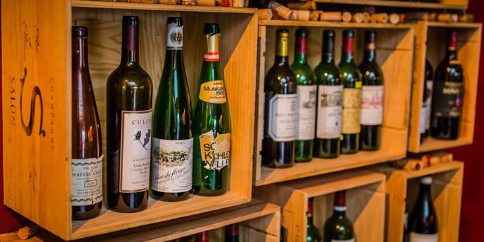 Wine Crate from Praelum Wine Bistro in Duxton, Singapore
