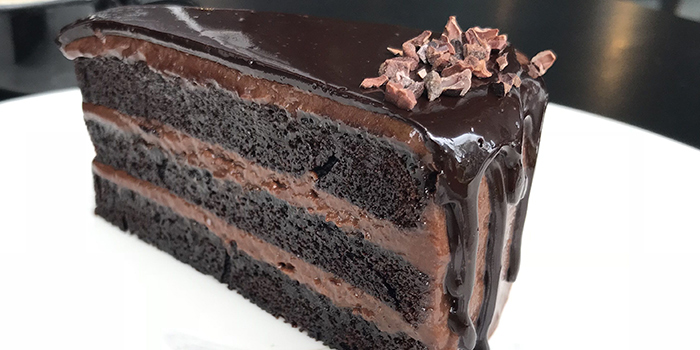 Chocolate Cake from Rookery (Hong Leong Building) in Raffles Place, Singapore