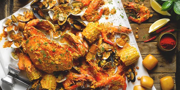 Seafood Spread from The Boiler (Esplanade) in Esplanade, Singapore