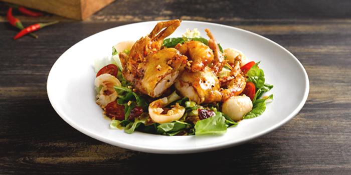 Softshell Crab Salad from The Boiler (Esplanade) in Esplanade, Singapore