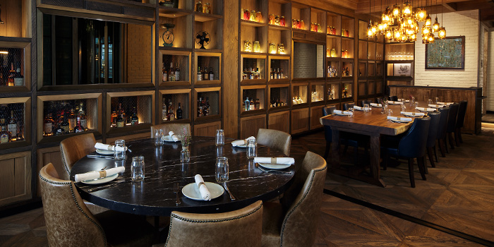 Private Dining Room of Yardbird Southern Table & Bar at The Shoppes at Marina Bay Sands in Marina Bay, Singapore