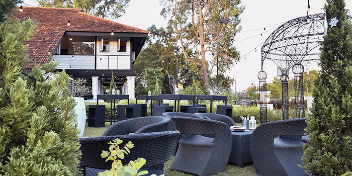 Outdoor Seating at Wildseed Grill & Bar at Seletar, Singapore