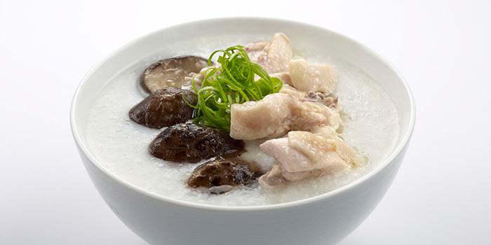 Chicken Mushroom Congee from Yum Cha Changi from Yum Cha Changi at UE Bizhub EAST in Changi, Singapore in Changi, Singapore